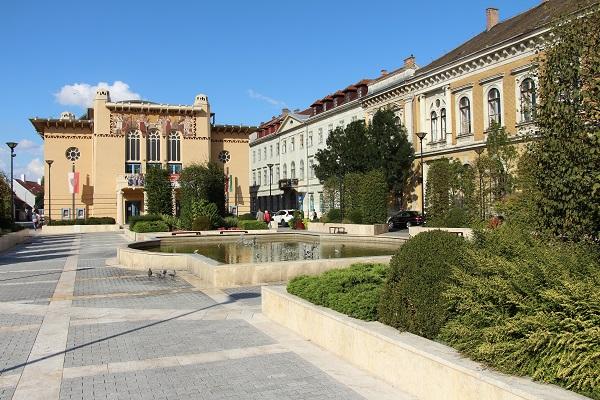 Petőfi tér in Sopron, Ungarn