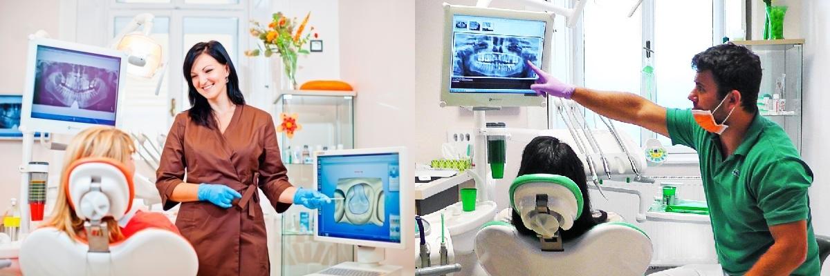 Zahnarzt im Dentall 4 One Zahnklinik in Sopron